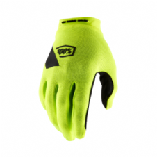 New Adult 100% Ridecamp Glove Fluo Yellow Motocross Enduro Quad ATV